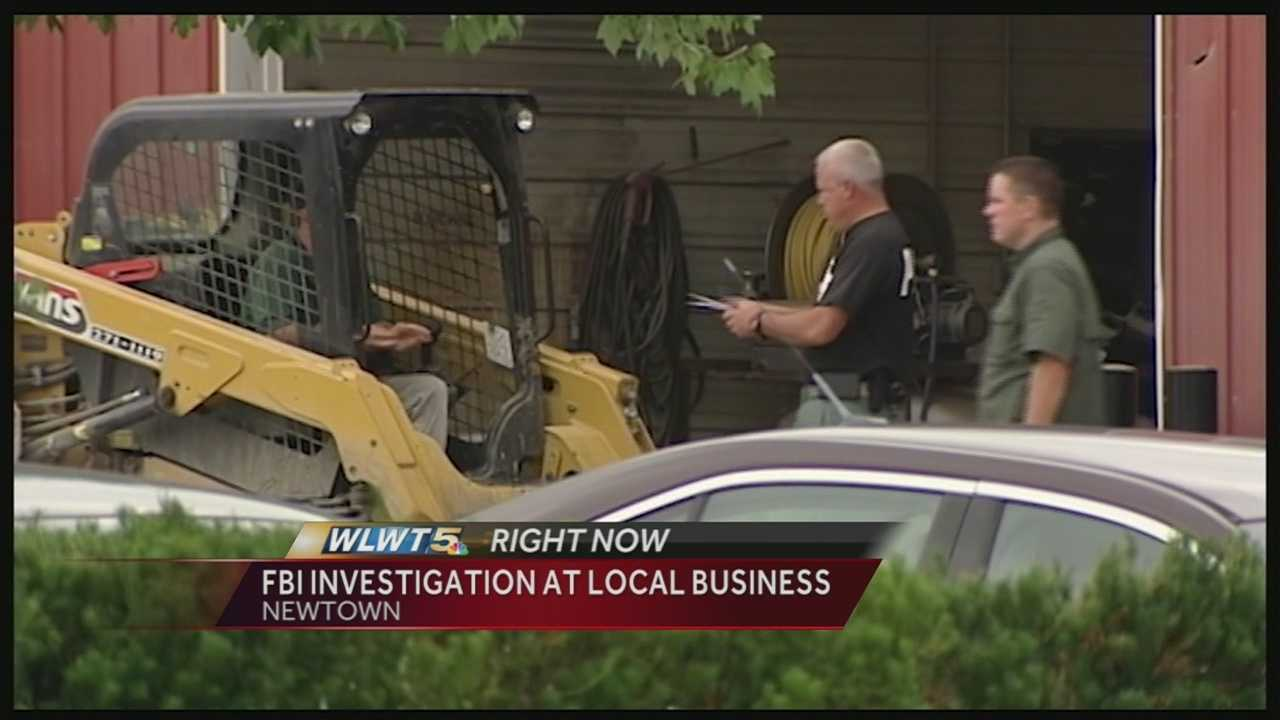 The FBI was at two locations on Round Bottom Road on Tuesday as part of a sealed warrant investigation.
