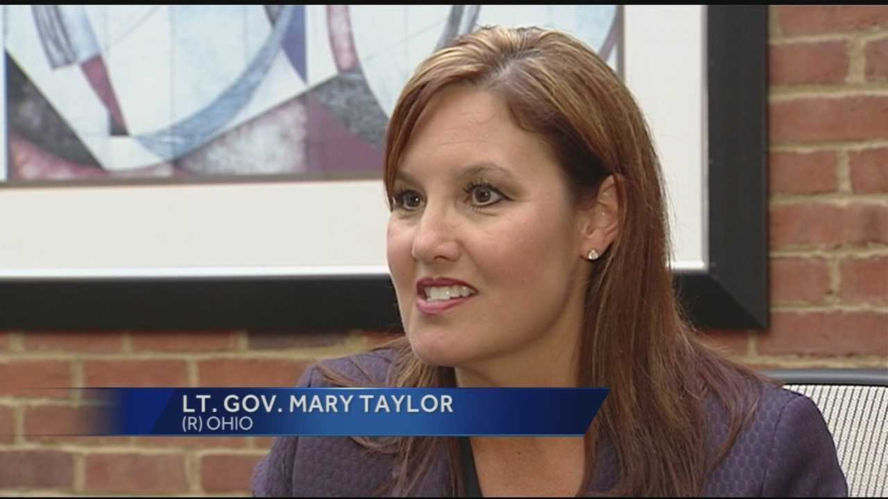 If Kasich were elected president or resigns in order to run, Taylor would fill his seat.But for now, Taylor said she and the governor are on the same page--focused on what's best for Ohio.