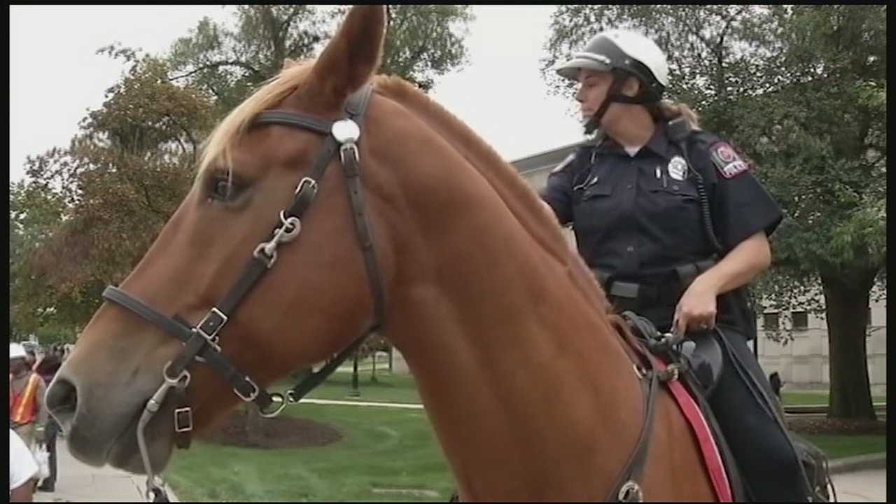 The four or five horses and officers for the patrol will come from the Columbus Police Department, and the patrol will be paid for with private funds from the police foundation.