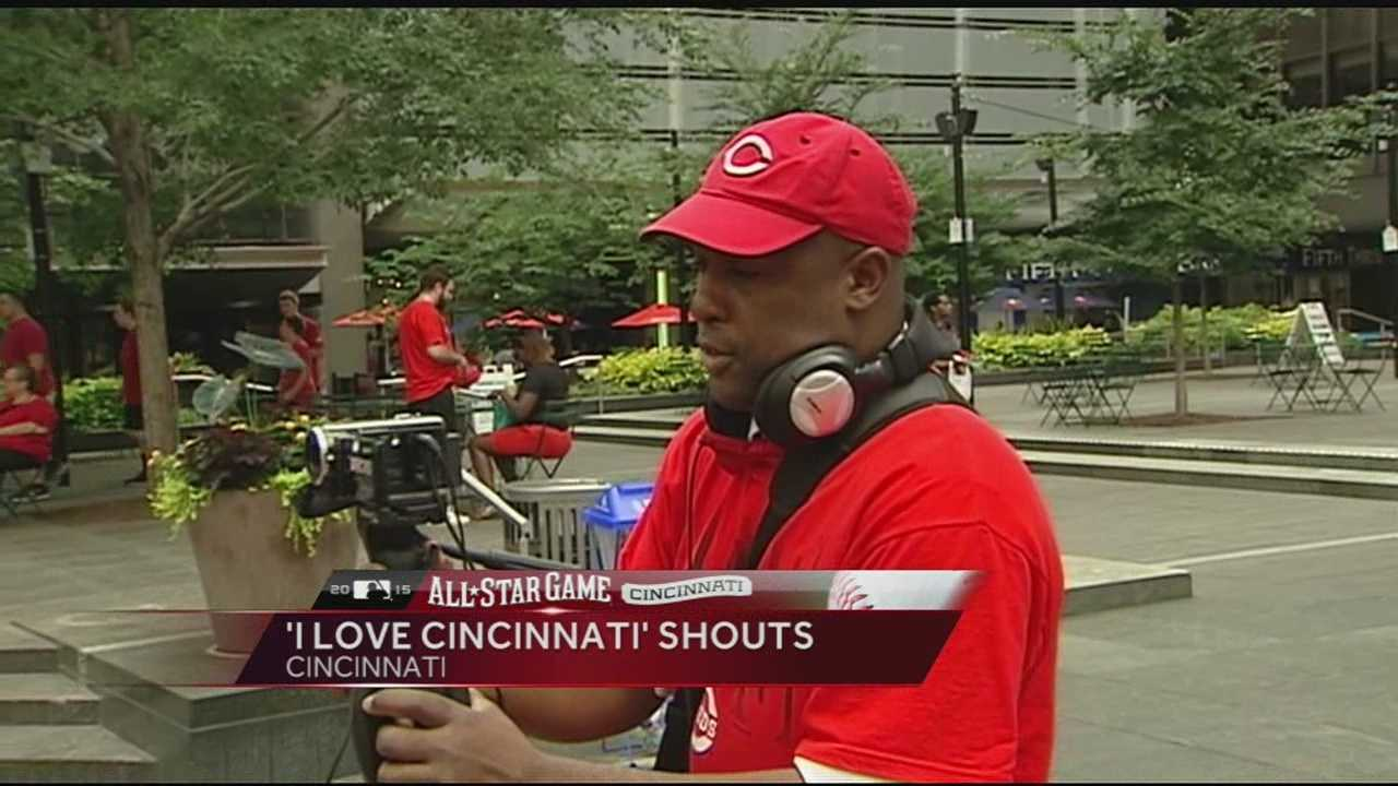 "To take part in the ""I Love Cincinnati"" shout, take a video-selfie and share it on social media by tagging it with #ILoveCincinnatiShout and share with News 5 by using #wlwt."
