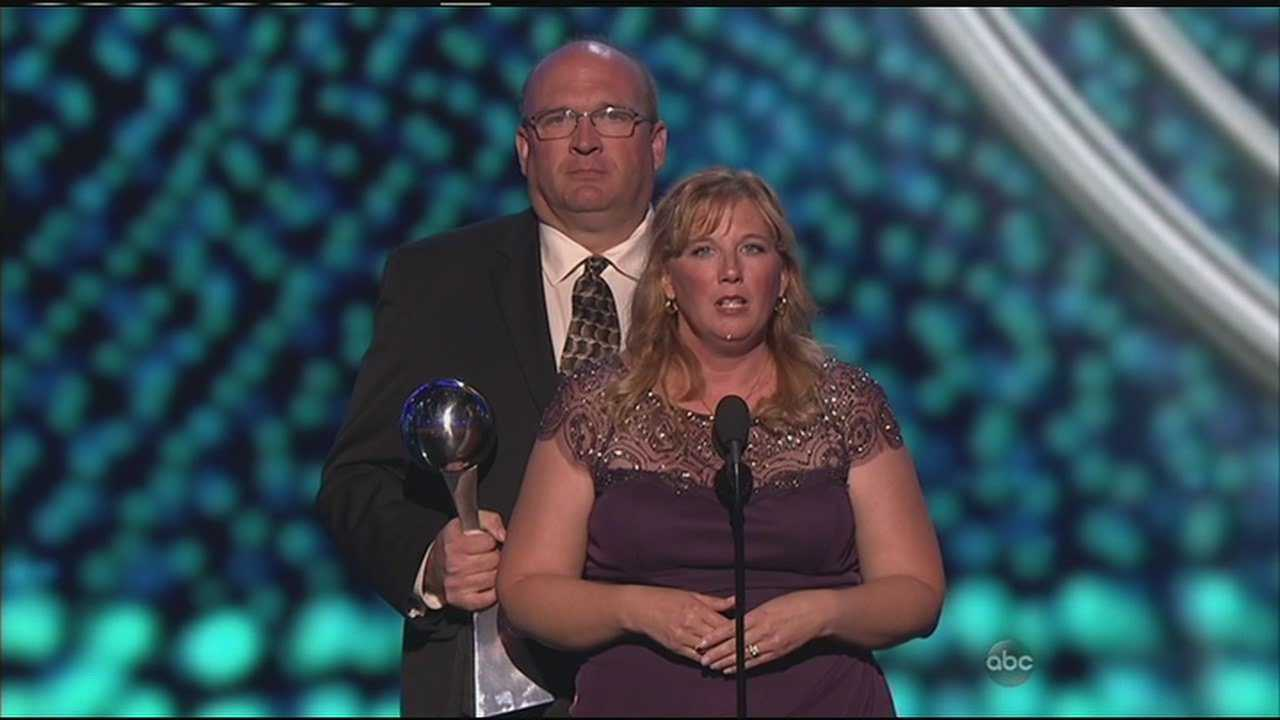 Lauren Hill was honored in a special dedication during last night's ESPY's.