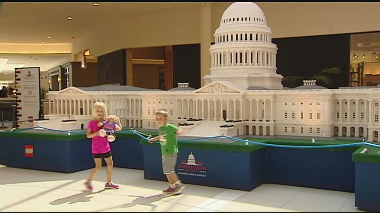Although the mini models and the popular LEGO play area allow kids to take on a simpler task, the much larger LEGO replica of the U.S. Capitol is 25 feet long, 10 feet tall, and took eight builders a total of 1,700 hours to complete.