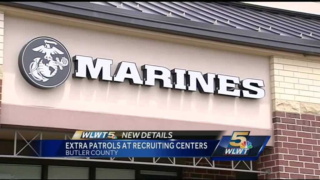 After the deadly shootings at military centers in Chattanooga, Tennessee, people in southwest Ohio have decided to step up to keep military members safe.Butler County Sheriff Richard Jones said he will add extra patrols to the four recruiting centers in the county. They're located in Fairfield Township, Hamilton and Middletown.