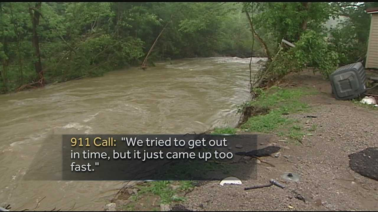 Victoria Kennard and two of her children died late Saturday night when the Red Oak Creek near their home, swelled to a raging torrent near Ripley.According to records, they were the first flash flooding fatalities in Brown County in nearly 20 years.