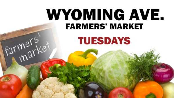 OHIOOpen through October, 3 p.m. – 7 p.m., Tuesdays.Located on Wyoming Ave. at Oak on the Village Green in downtown Wyoming.Wyoming Avenue Farmers Market