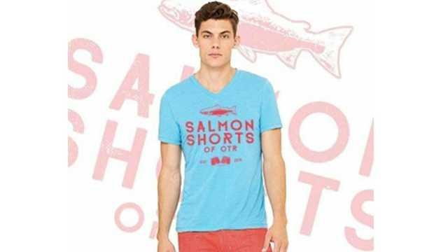 Salmon Shorts of OTR Salmon Swim