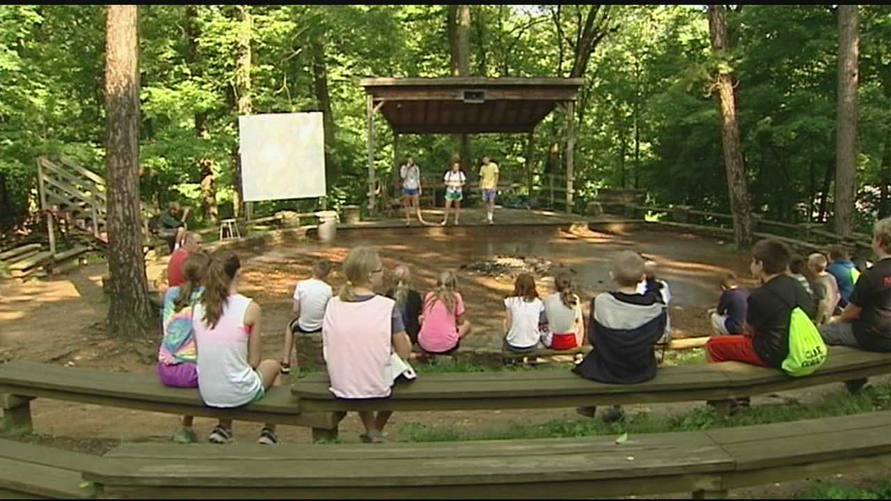 Summer camp is often a treasured summer experience for kids.This week at YMCA's Camp Ernst, more than 200 special kids have gathered for Camp Corral.