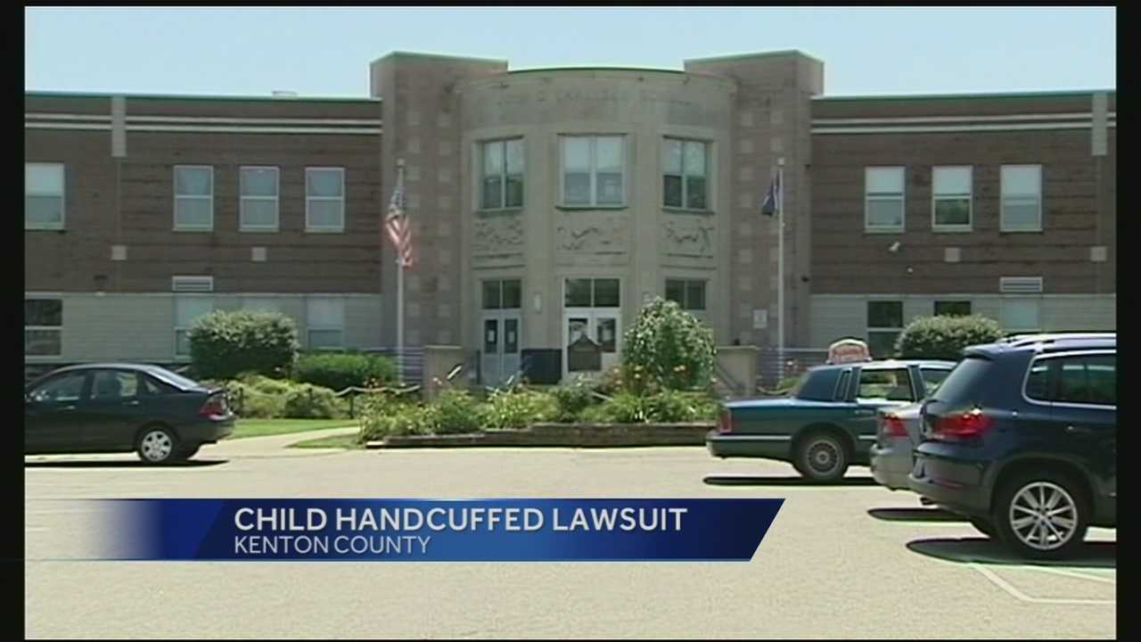A school resource officer and school officials did not violate school policies when the deputy handcuffed elementary school students with disabilities, according to an independent investigation.Video shows Kenton County Deputy Kevin Sumner handcuffing an elementary school student with disabilities.