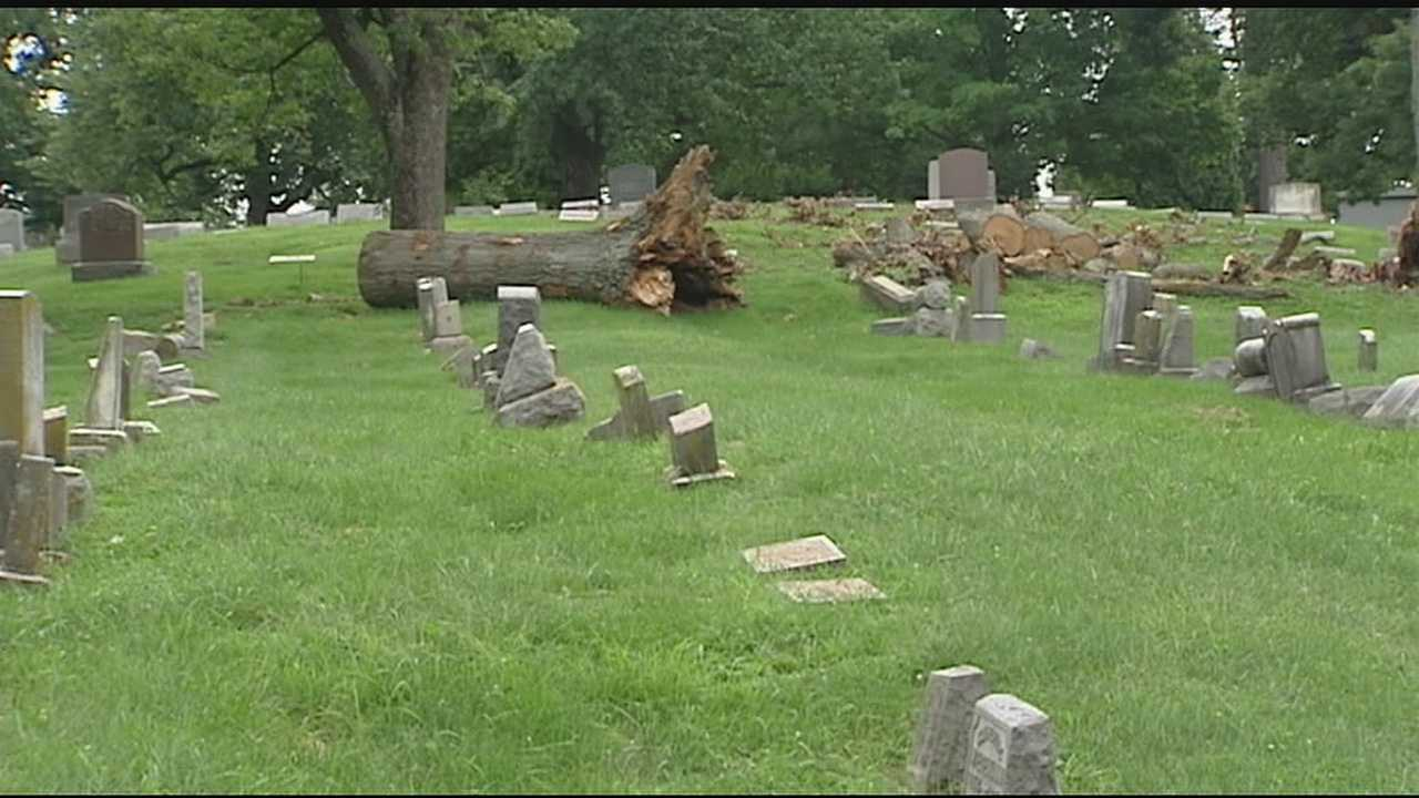 Evergreen Cemetery, a final resting place for more than 60,000 people in Greater Cincinnati, is showing its age.