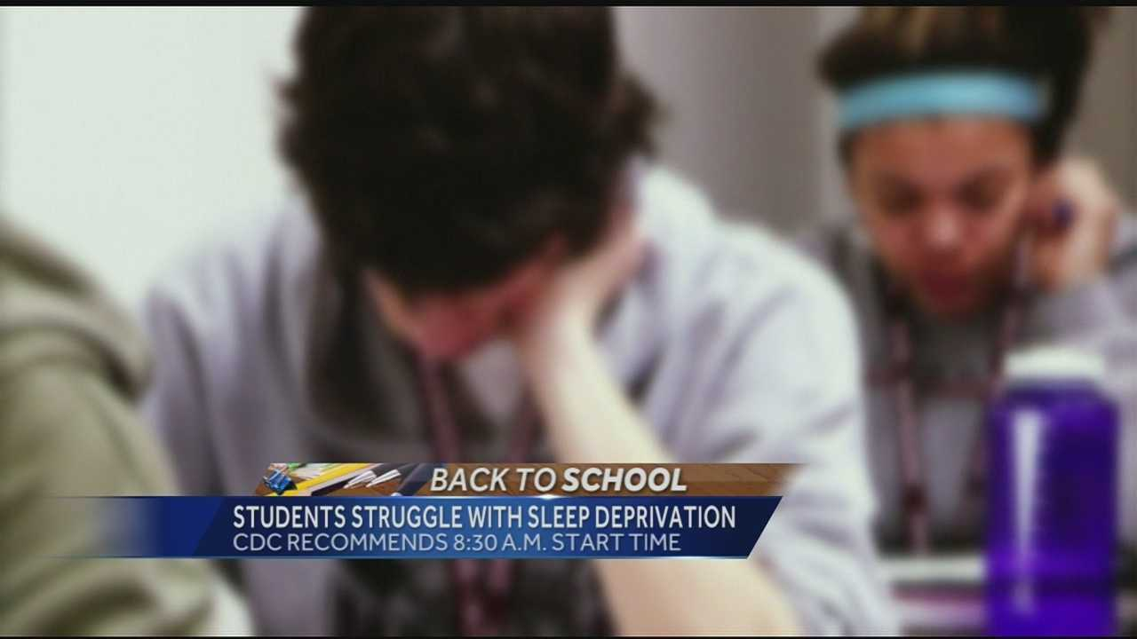 As school resumes in some districts, students revisit an ageless struggle -- getting enough sleep