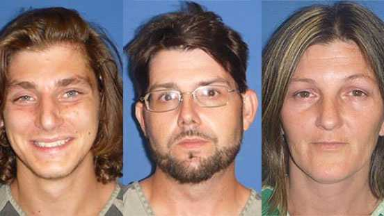 Kevin Blake Tucker (left), Joshua F. Brockman (middle), and Brandy S. Keith (right)