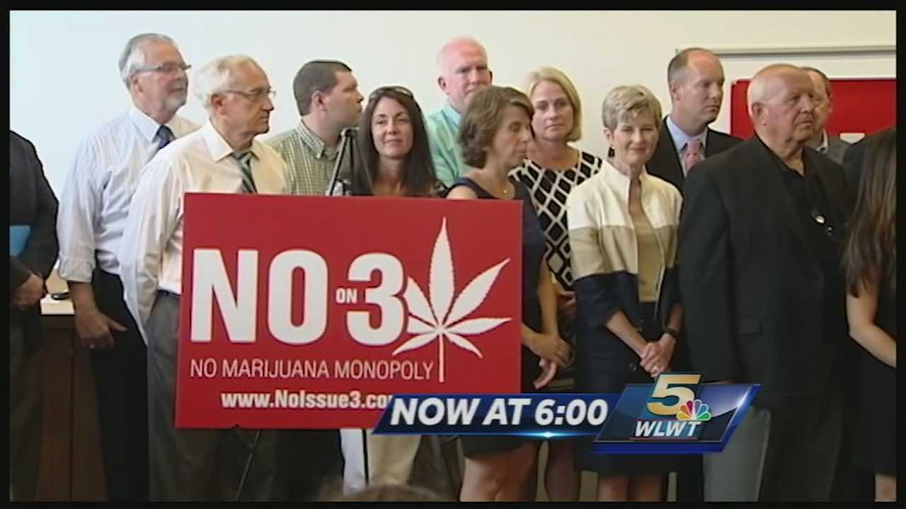 The legalization of pot is getting a push back with a counter campaign launching in Columbus Monday. The counter campaign has many different groups backing it including pastors, parents, doctors, farmers, even business owners saying No on Issue Three.