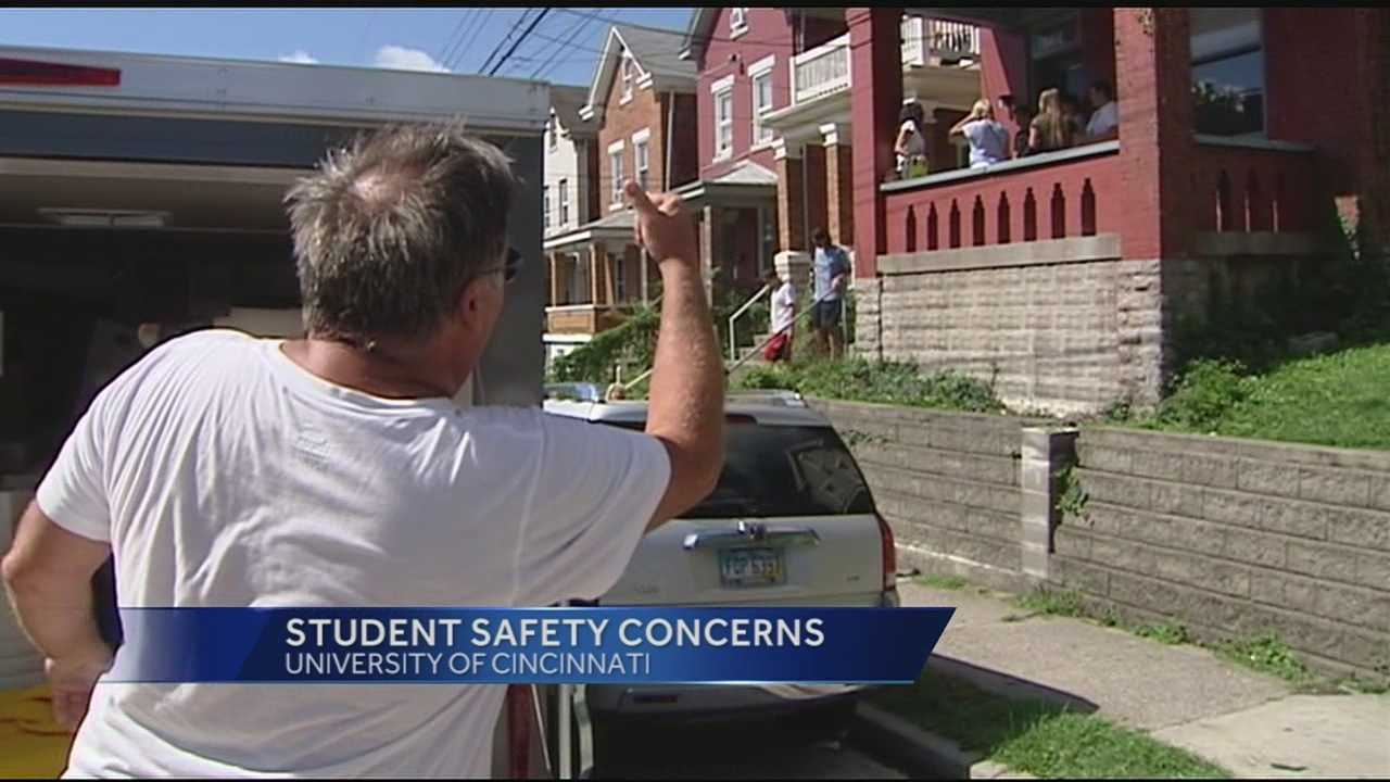 WLWT News 5's Todd Dykes spent time near UC's main campus in Clifton, checking on the mood of students one month after ex-UC police officer Ray Tensing shot and killed Sam DuBose during a traffic stop.