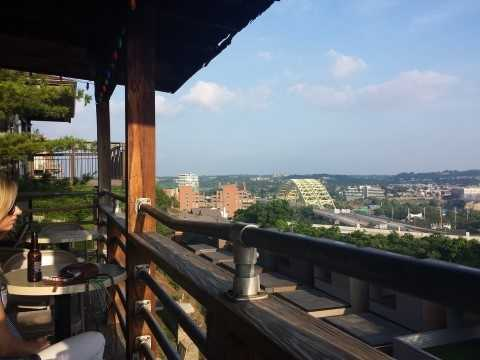City View Tavern is known for the burgers, beers and Bloody Marys. They also have skyline views from the back deck.