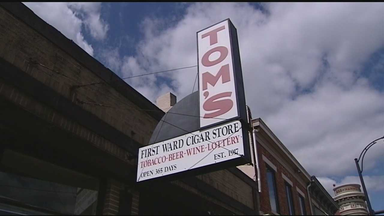 For nearly a century, Tom's cigar store has been a fixture on Main Street in Hamilton.Once a booming business, it thrived thanks to the mill workers and other industry in town.