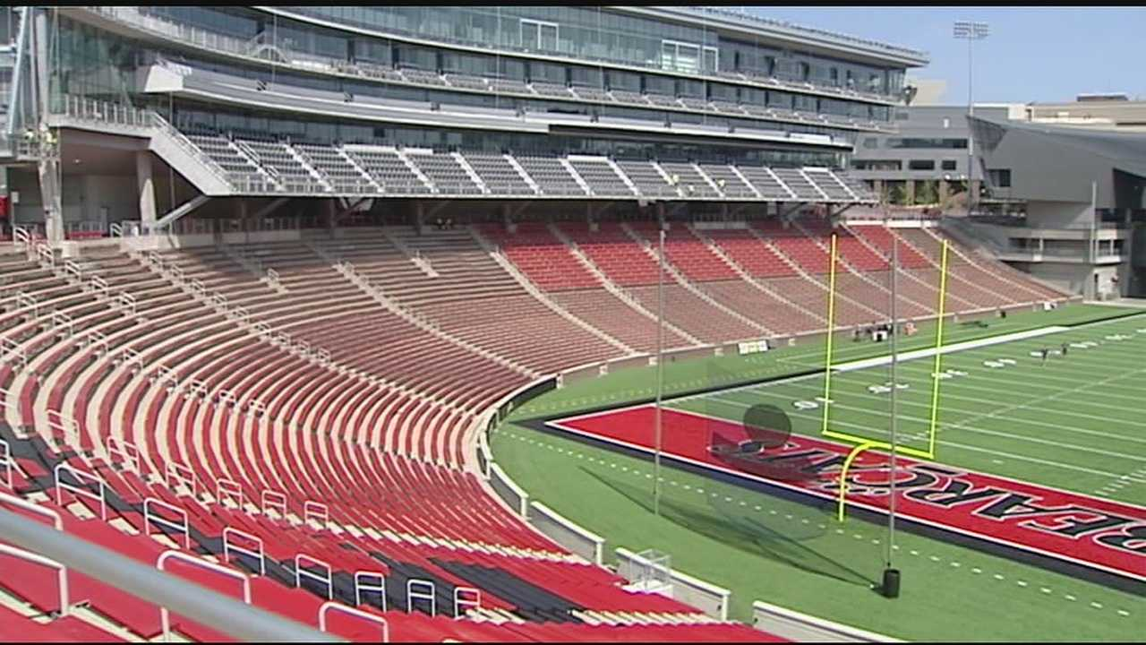 Freshly-renovated Nippert Stadium, having largely completed an $86 million makeover, is hosting its first football games Friday since December 2013.The Skyline Crosstown Showdown signals a new era for the venue, the campus and the area immediately to the east of the University of Cincinnati.