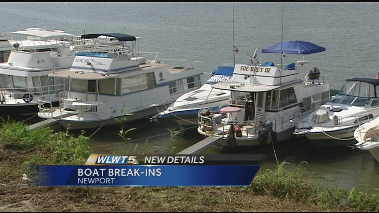 Monday morning, three red Honda generators were stolen from the shore in front of about a dozen docked boats.