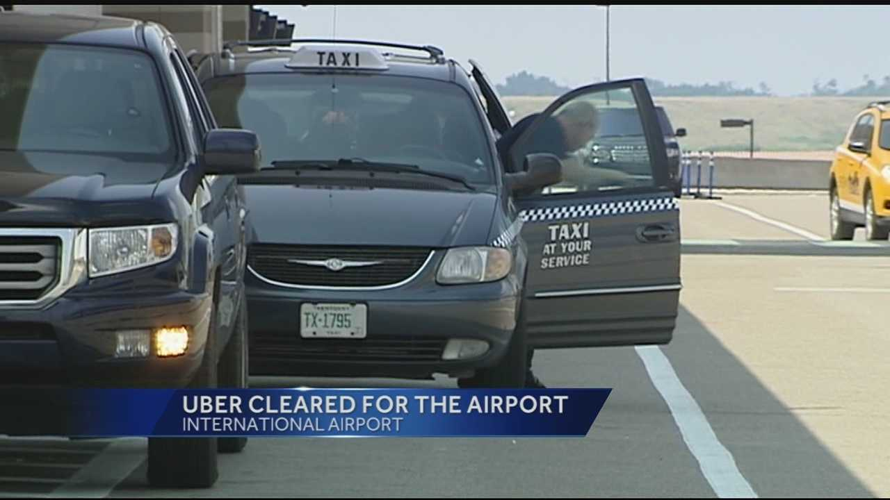 The airprot said Thursday that Uber Technologies, Inc. finalized an agreement authorizing Uber to operate at the airport under their new ridesharing policy.