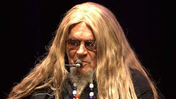 """David Allan Coe"" by Matthew Woitunski in 2009. Licensed under CC BY 2.0 via Commons"