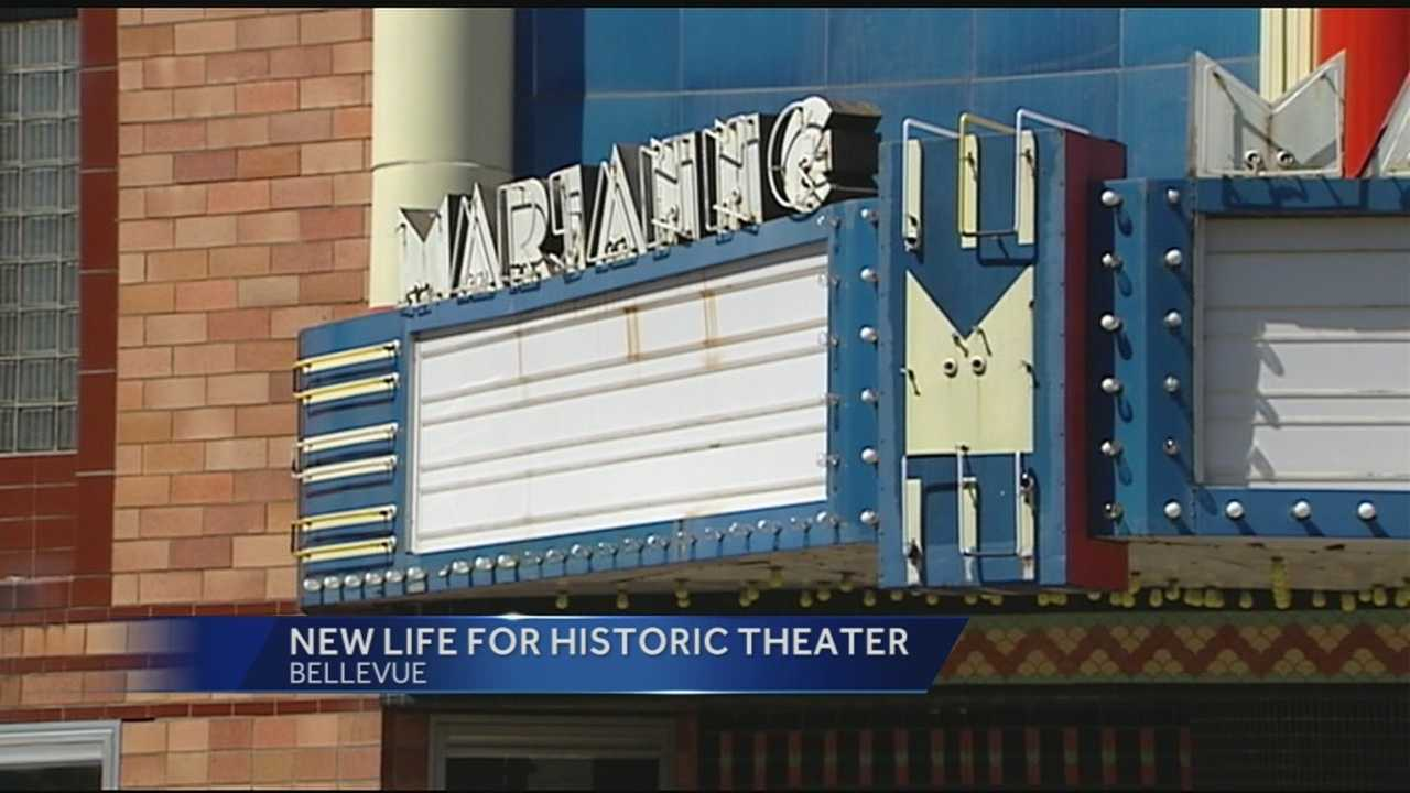The nearly 75-year-old Marianne Theatre was a part of the Bellevue community for generations.The building is on the National Register of Historic Places, but it's been vacant for 15 years.