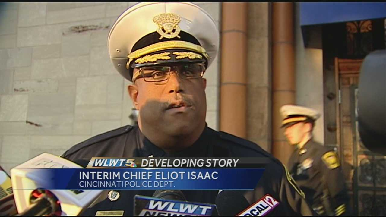 FOP President Kathy Harrell said it was an excellent meeting and offered plenty of support for new interim Chief Eliot Isaac.