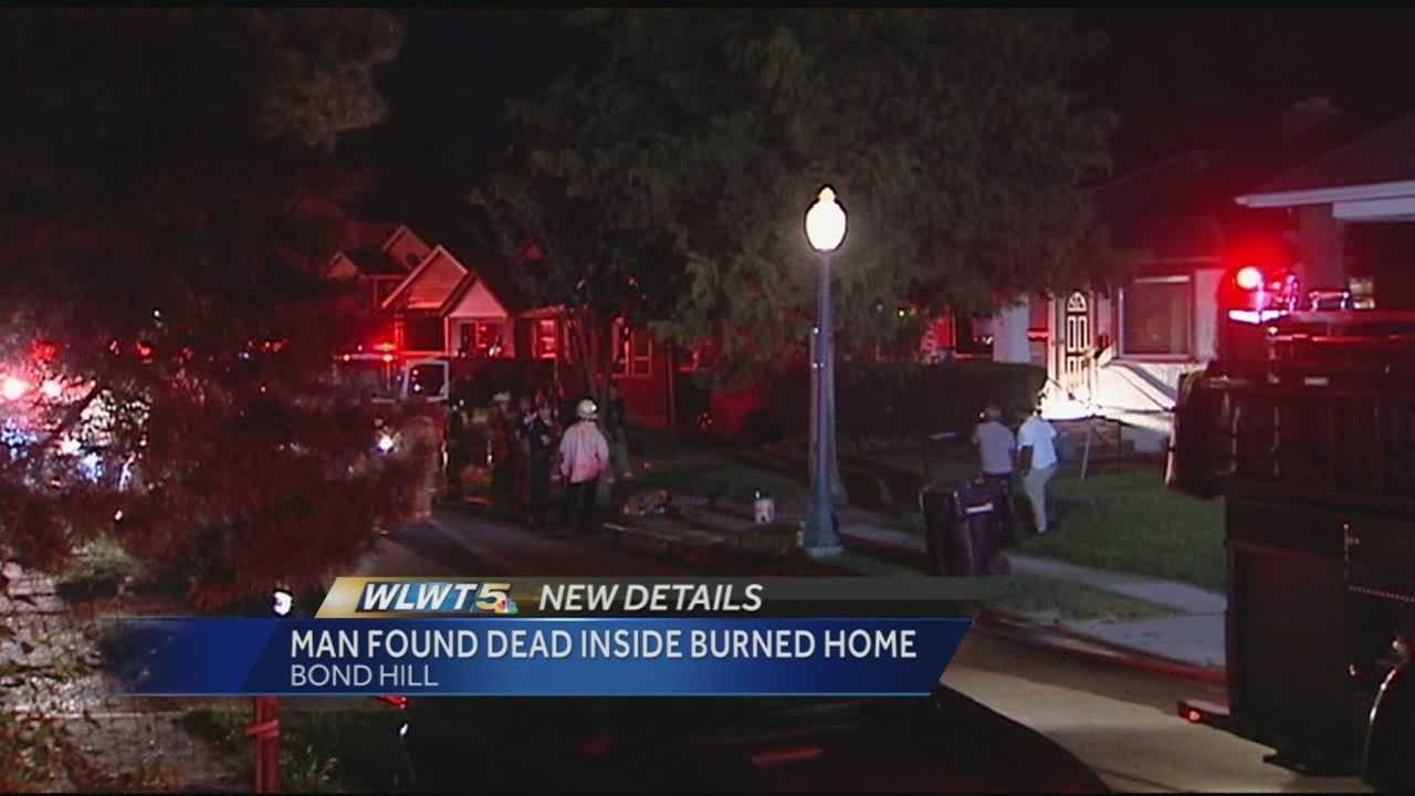 Authorities are investigating after an 85-year-old man was found dead in a Bond Hill home that caught fire.