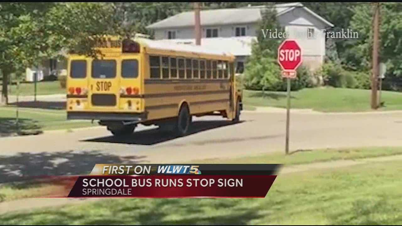 A school bus driver in the Princeton City Schools district has been removed from the driver's seat after a parent's cell phone video goes viral.