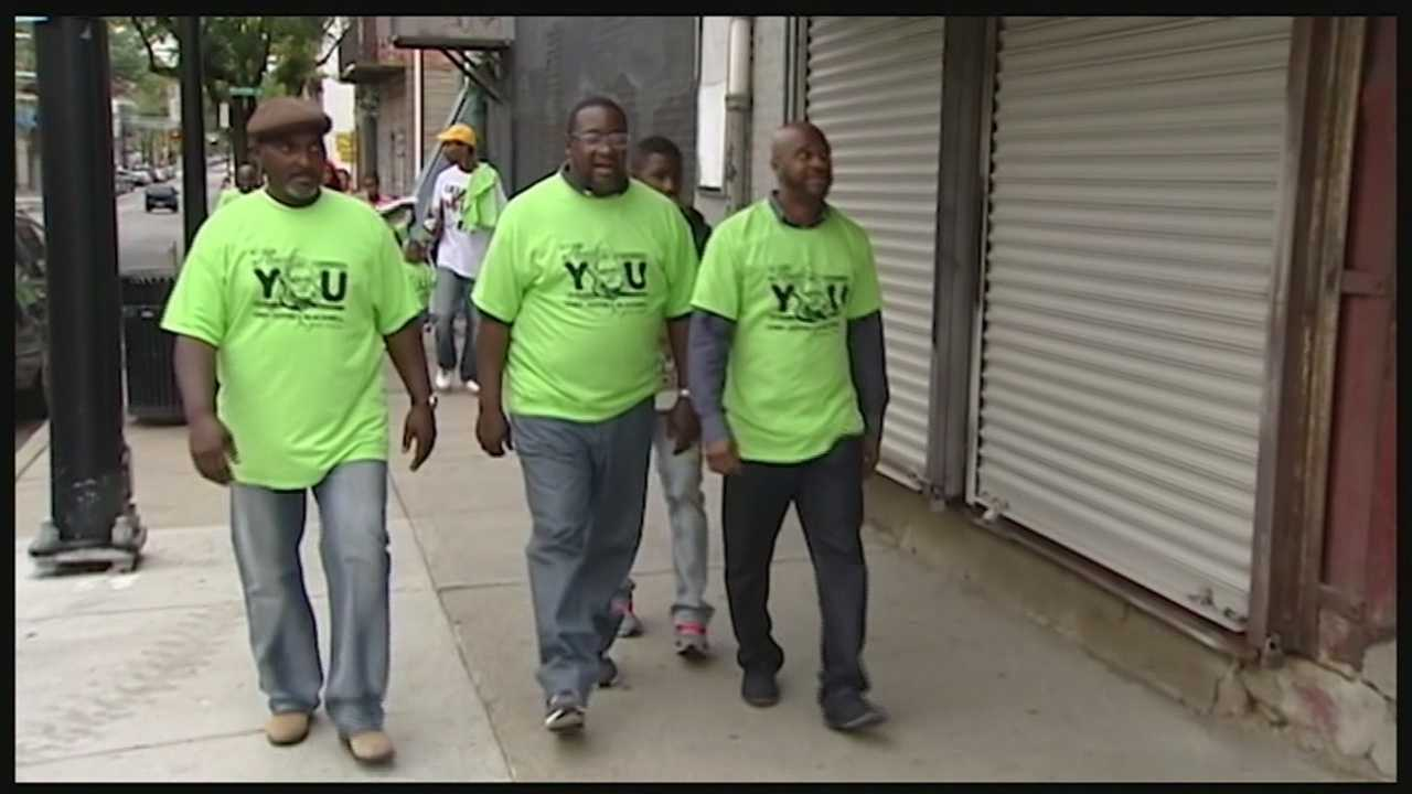 Community marches to end violence, thank former chief Blackwell