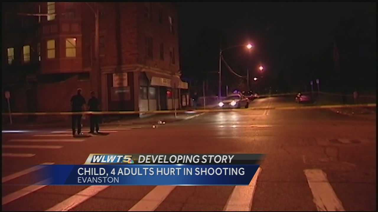 Five of eight people shot in a five-hour period were on one street corner in Evanston.