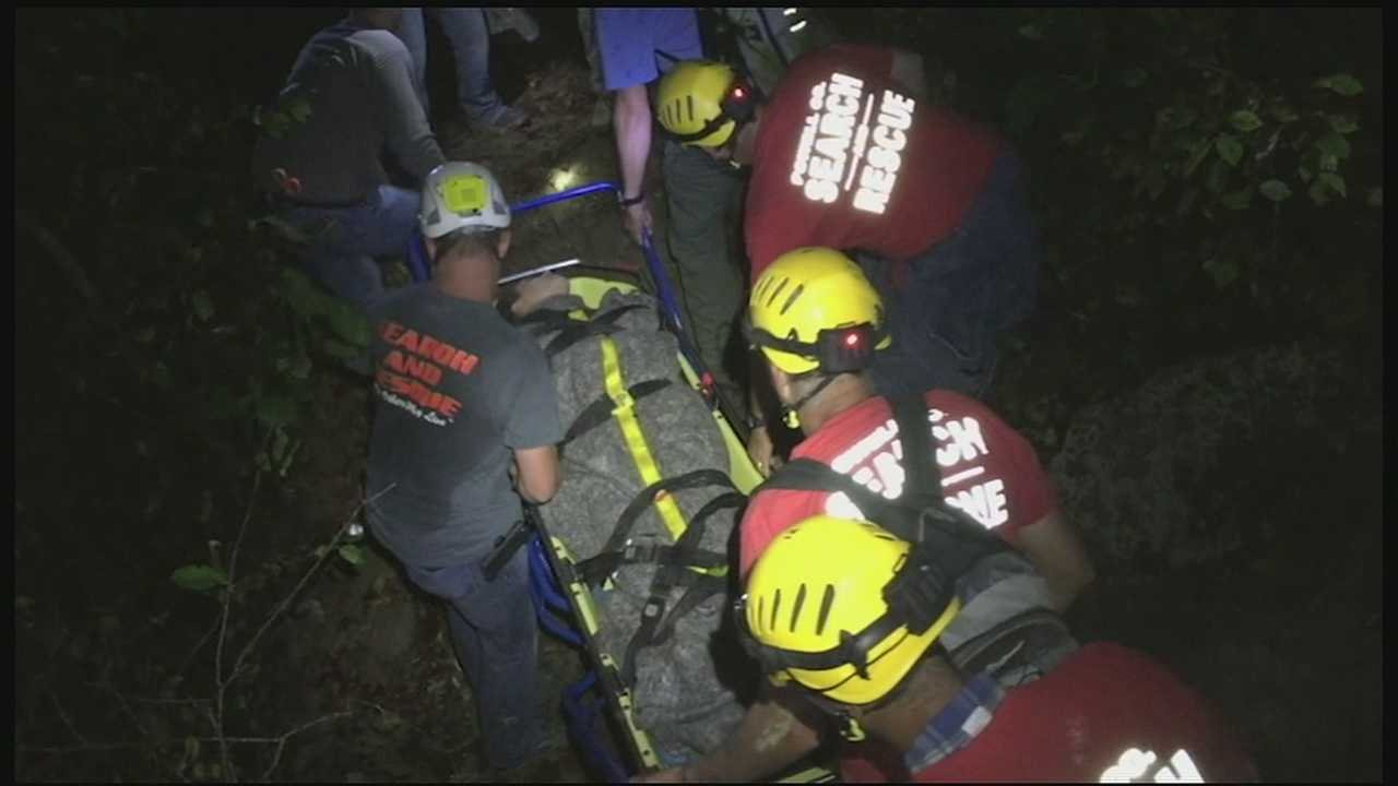 Woman recovering after Red River Gorge fall