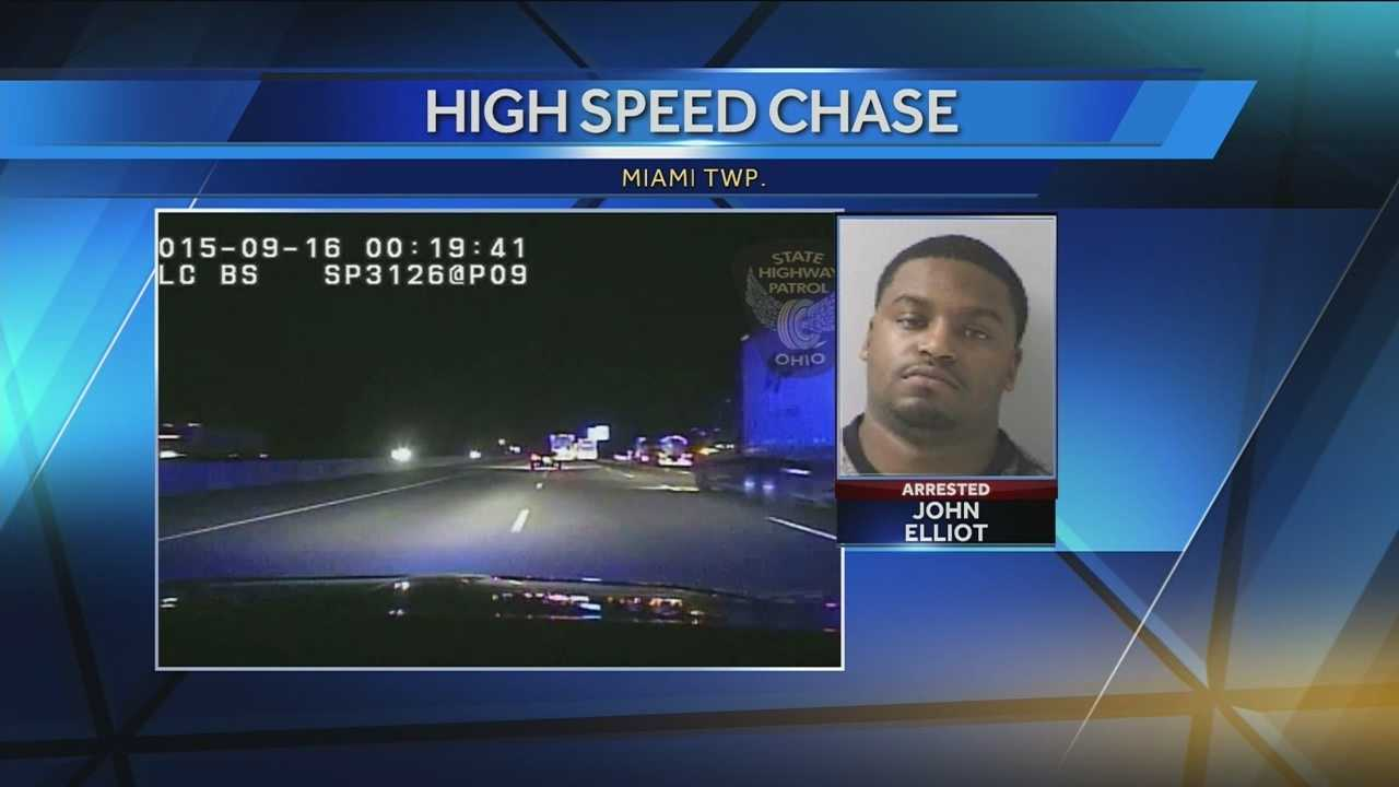 Troopers spotted John Elliot speeding on Interstate 75 last month. When they tried to pull him over, he took off.