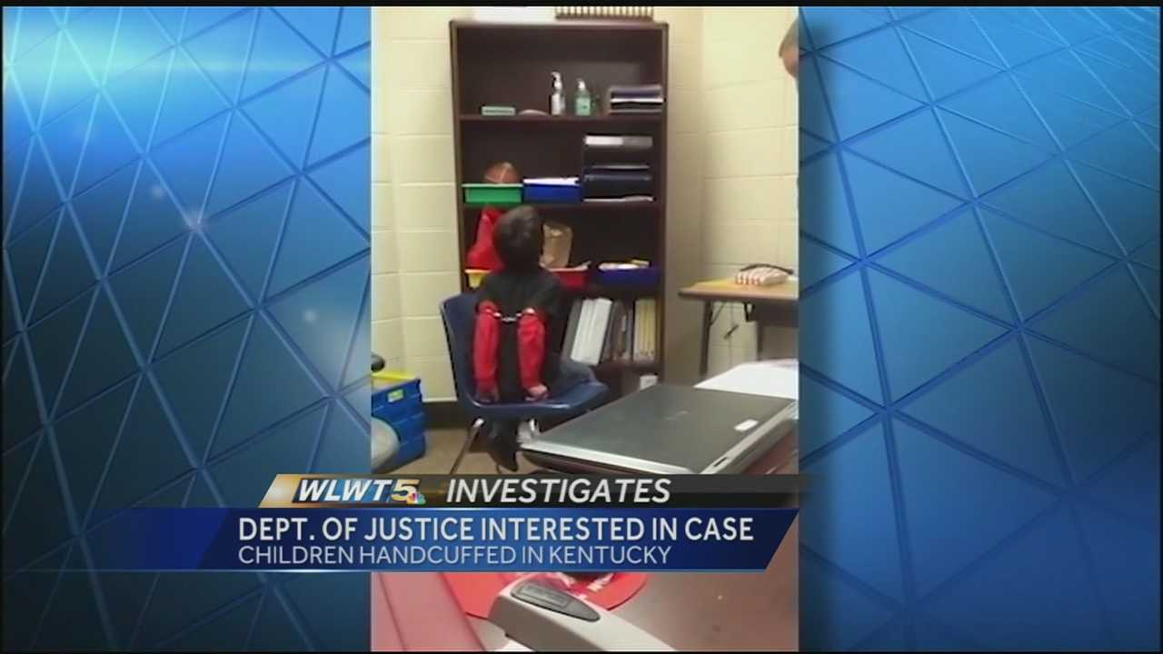 DOJ weighs in on handcuffed child lawsuit