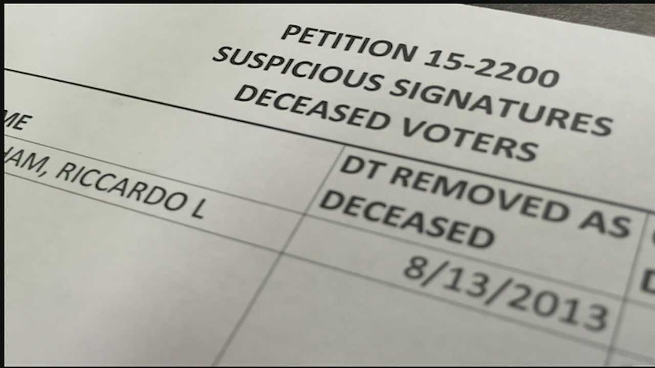 Officials in two southwest Ohio counties are looking into voter registrations and signatures involved in a pro-marijuana legalization ballot issue.