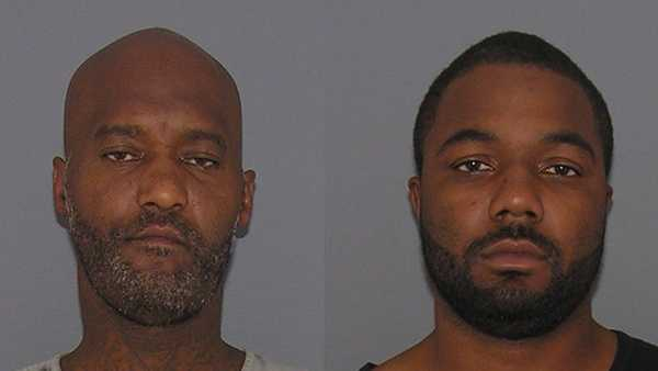 Keno Phillips (left) and Steve Ivey (right) are facing federal charges related to possession of firearms.