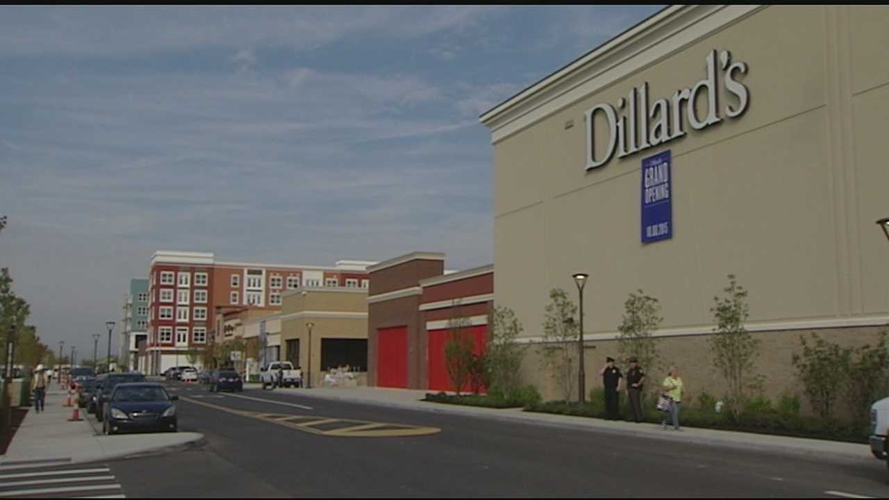 Dillard's, one of the anchor stores at the new Liberty Center in Butler County, held a grand opening Thursday morning.