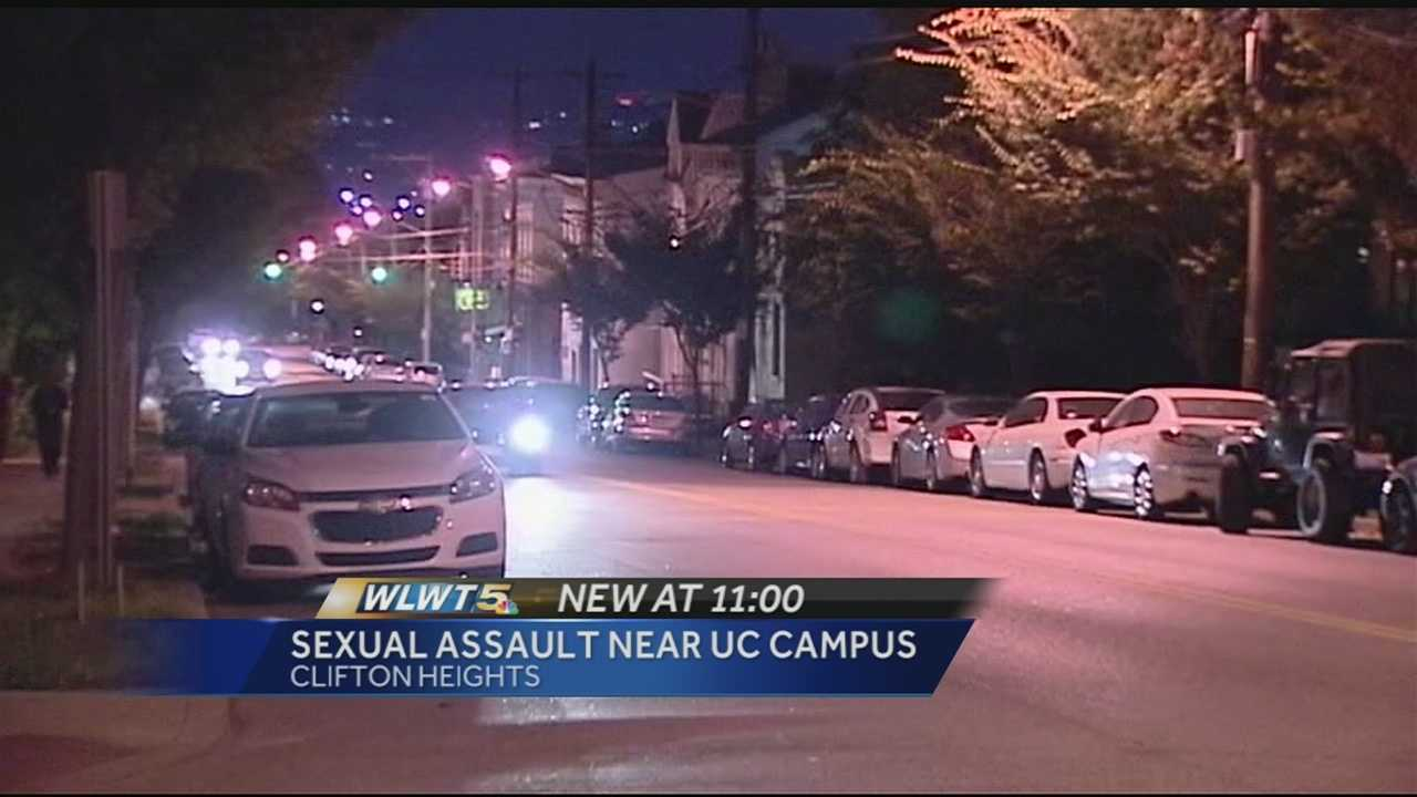The university said the victim is not a UC student, but students live along that street and walk to and from class.
