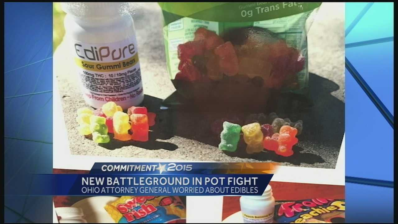 Ohio Attorney General Mike DeWine said he learned about the hunger for edibles after visiting Colorado.