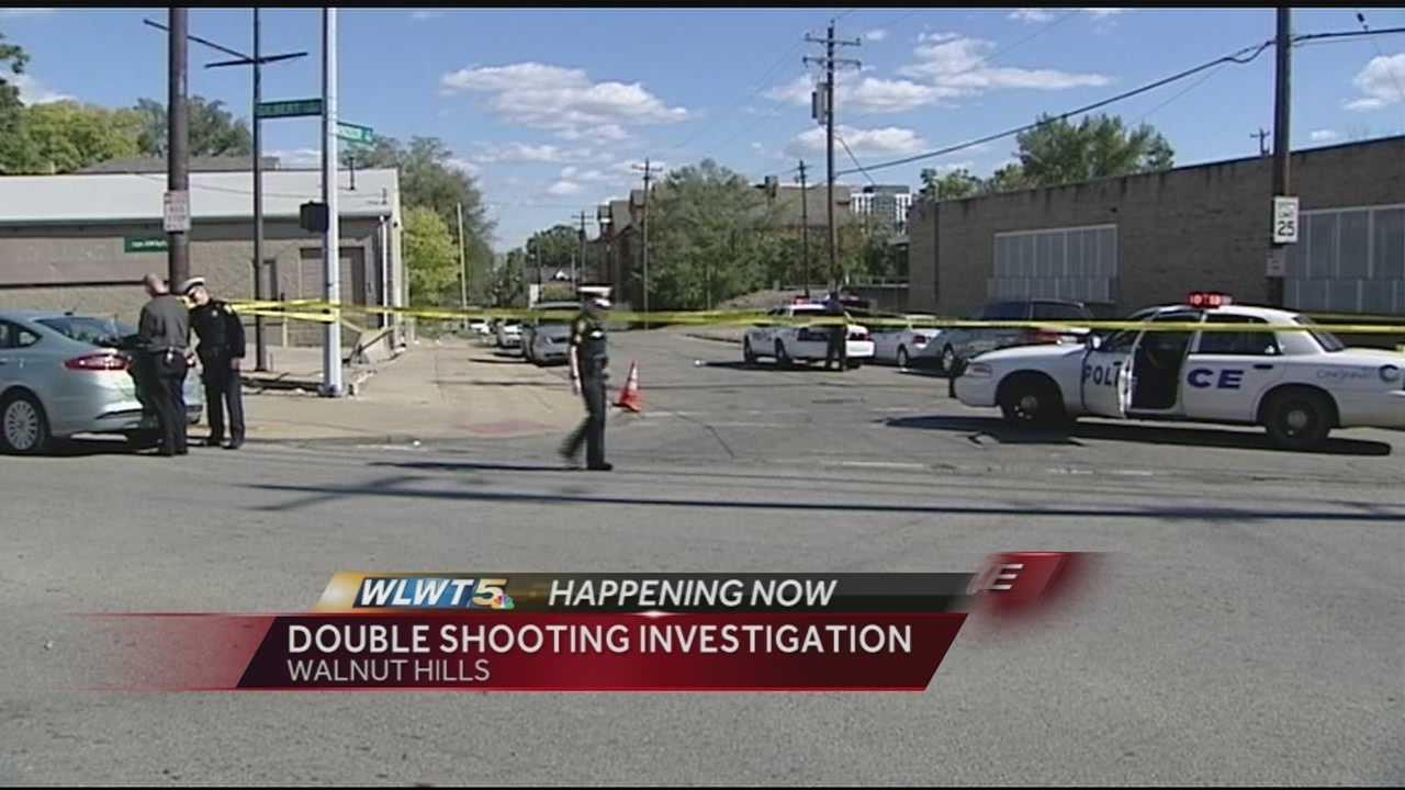 2 men injured in double shooting in Walnut Hills