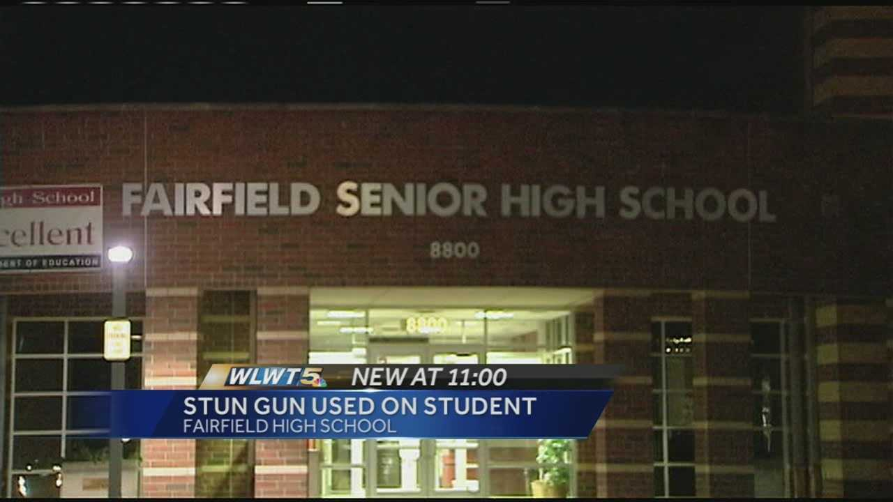 A Fairfield High School student needed to be hospitalized after a school resource officer accidentally shot her with his stun gun. School officials said the incident happened on Sept. 25, but the information about it was released Monday.