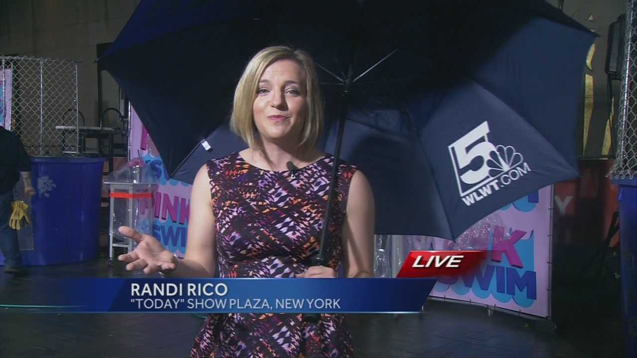 WLWT News 5's Randi Rico will be helping Al Roker with the weather on Thursday.