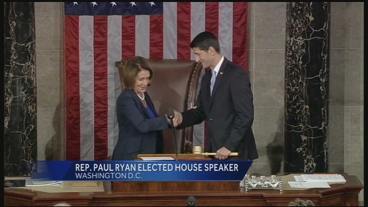 A professor, who Ryan said influenced his outlook on life and public service is sharing his relationship with the new House speaker with WLWT.