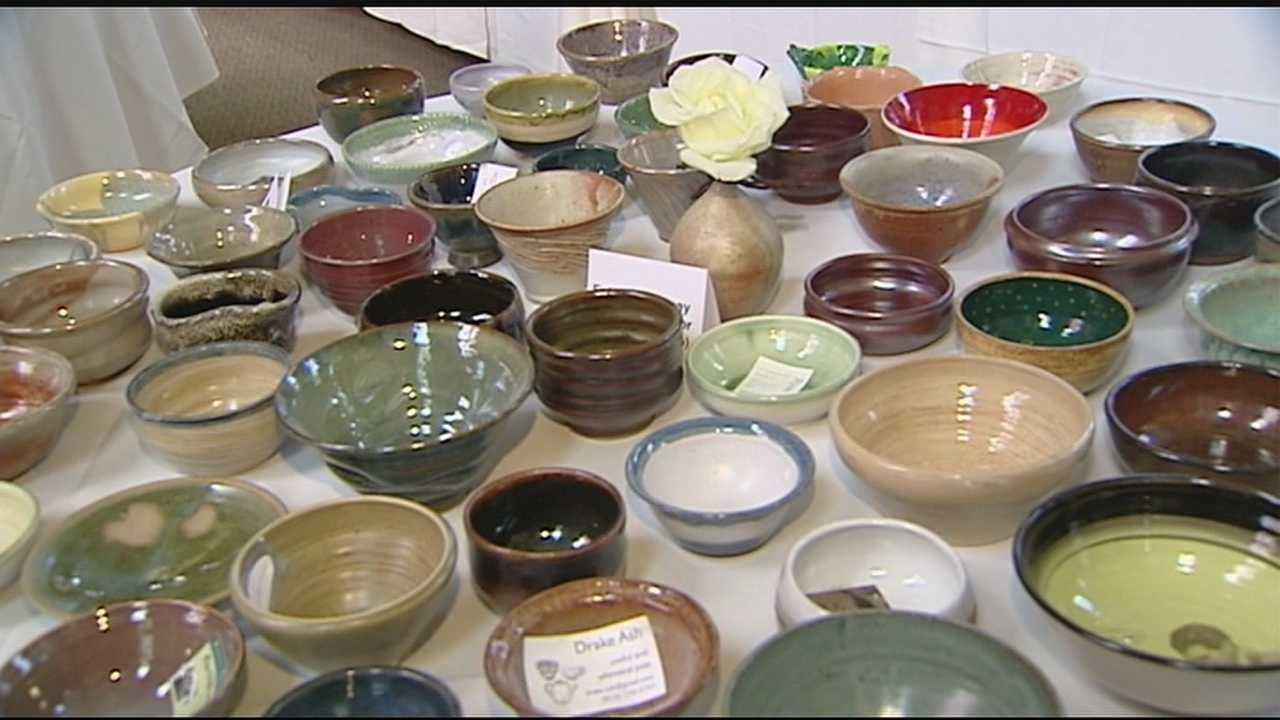 Annual Empty Bowls event aims to end childhood hunger