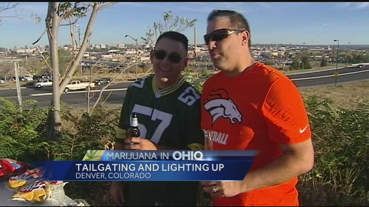 NFL fans discuss marijuana legalization in Colorado prior to SNF