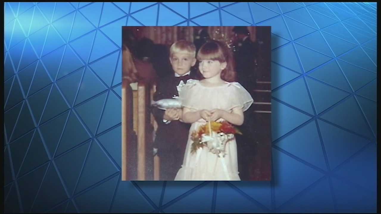 A couple is celebrating two decades of marriage, but their love story may have started long before that. Perhaps it started the first time they walked down the aisle together when they were 5 years old.