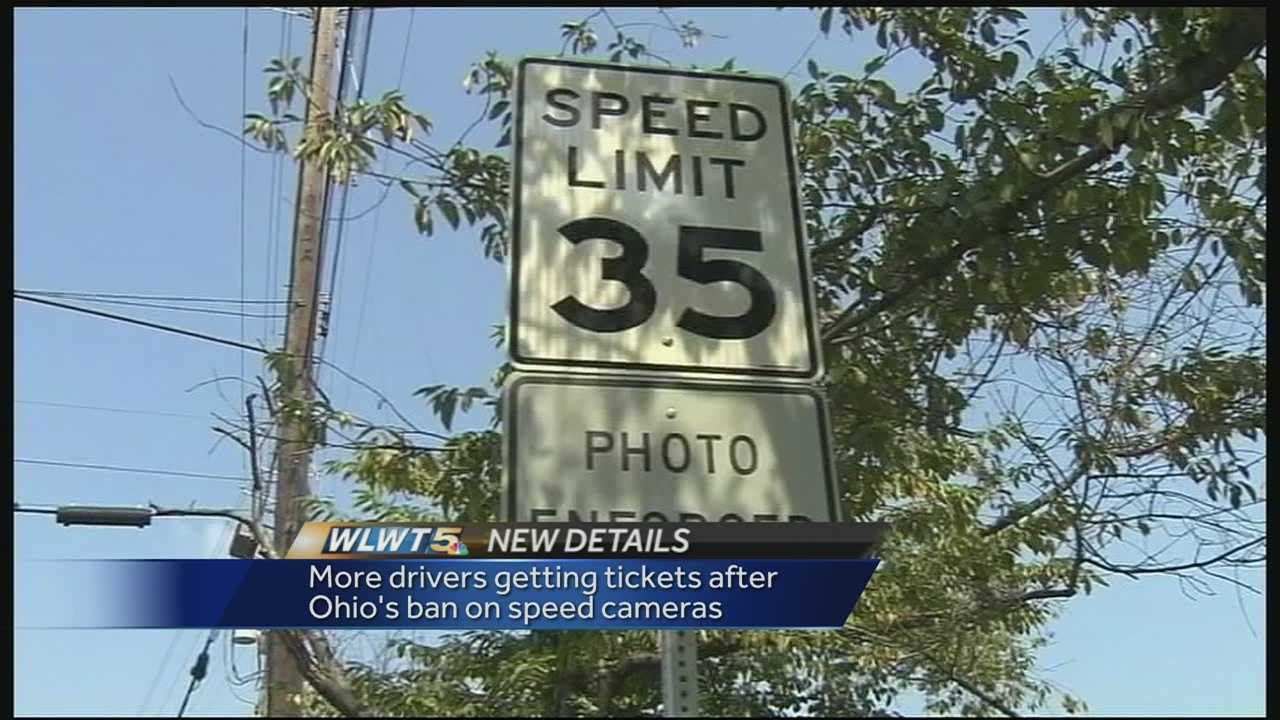 A speed gun with an integrated camera is allowing some Ohio cities to use cameras to catch speeders again.