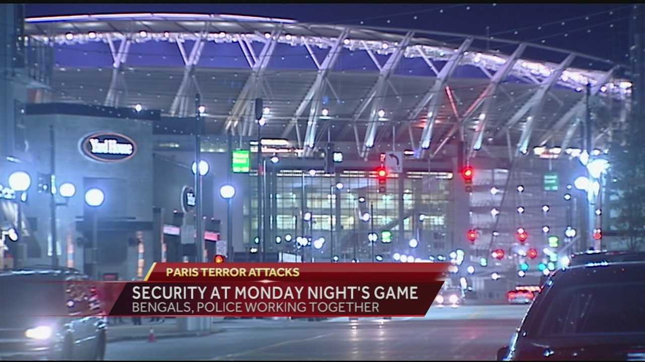 Security is paramount as MNF crowd descends on Cincinnati
