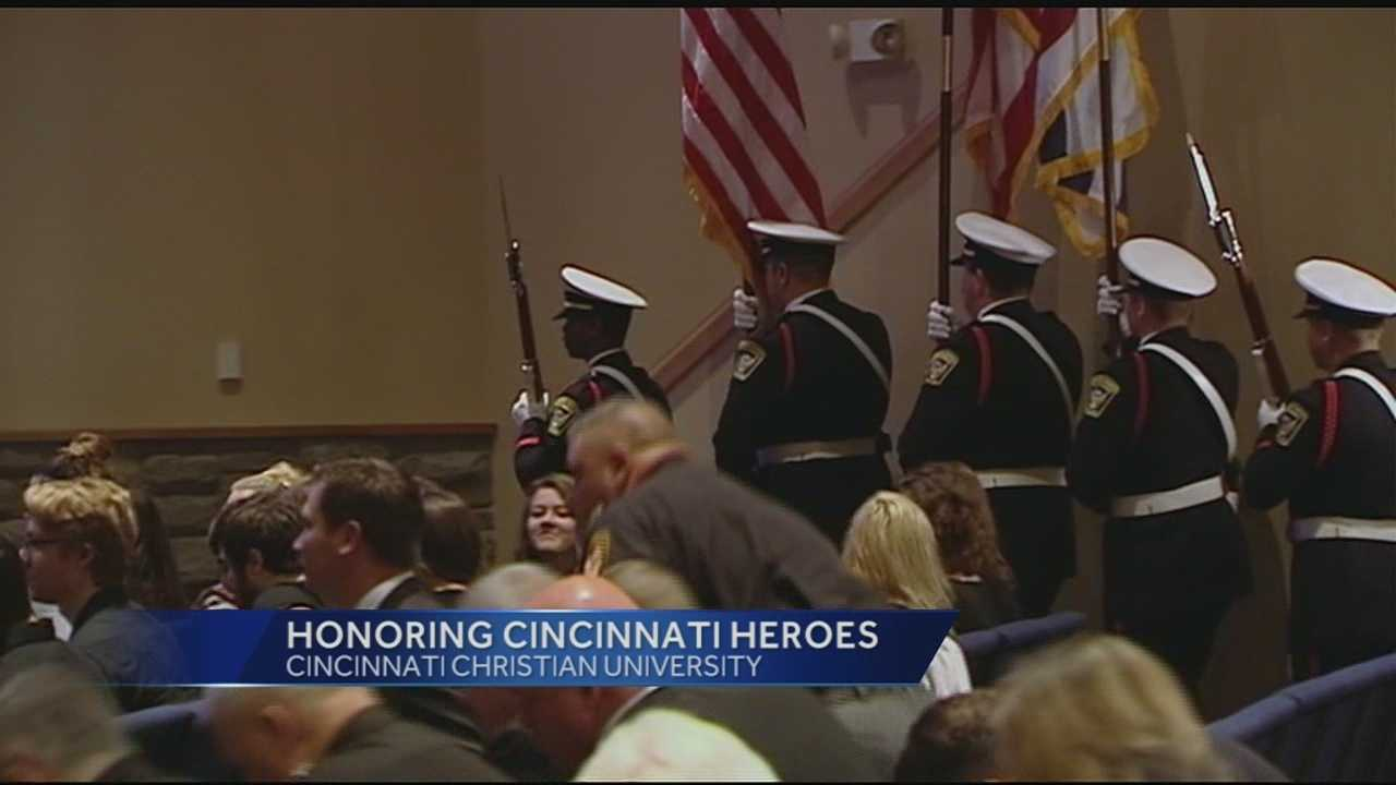 Each year, Cincinnati Christian University recognizes the men and women who keep the city safe.