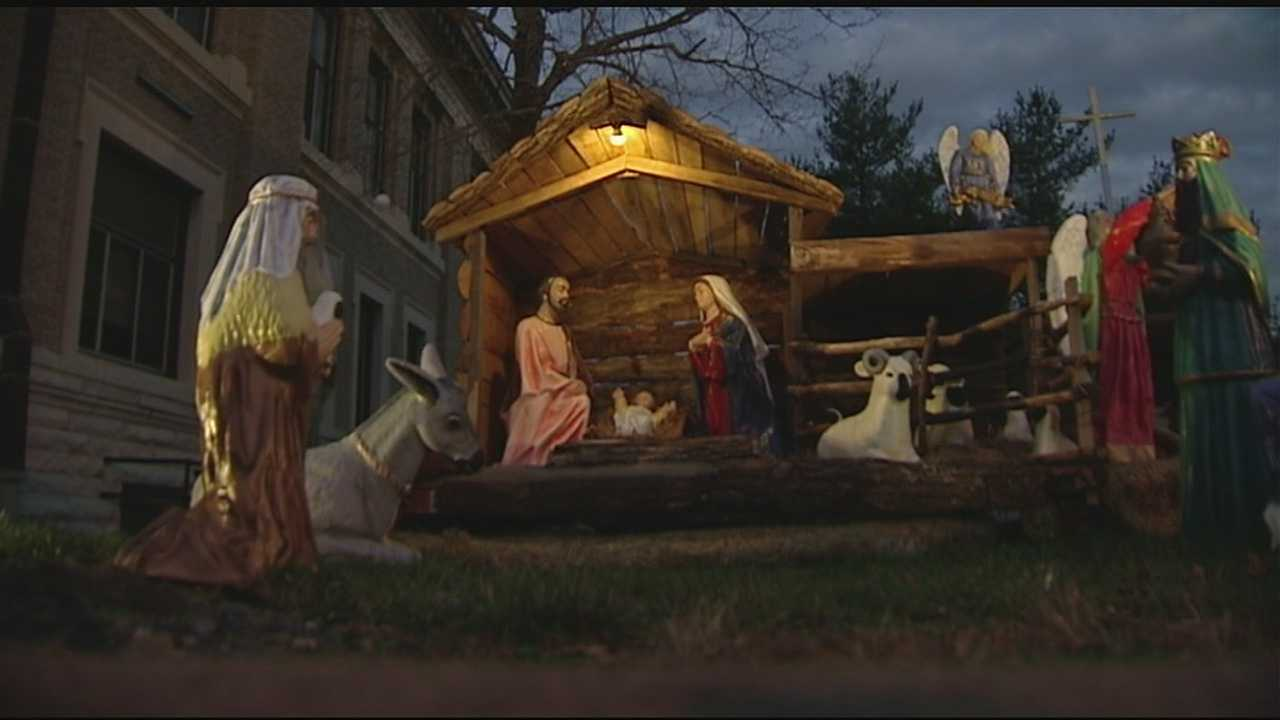 The nativity has been on display in Brookville for more than 50 years but has been under fire based on its location for the last four.