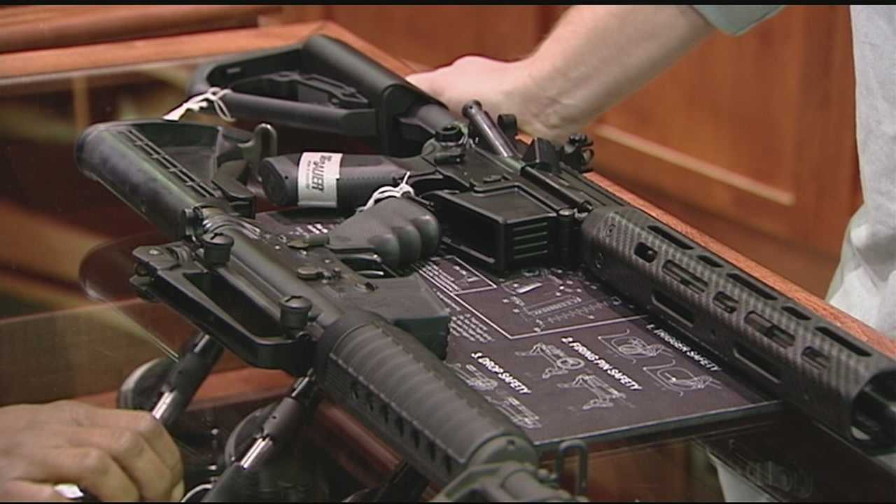 Some people can purchase just about any kind of weapon, big or small, at Ready Line shooting complex in Newtown, but that's if the owner will sell it to them.