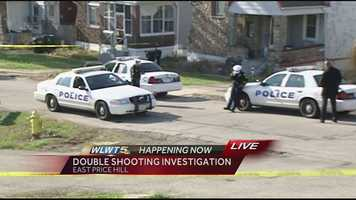 Cincinnati police are investigating a double shooting in East Price Hill.